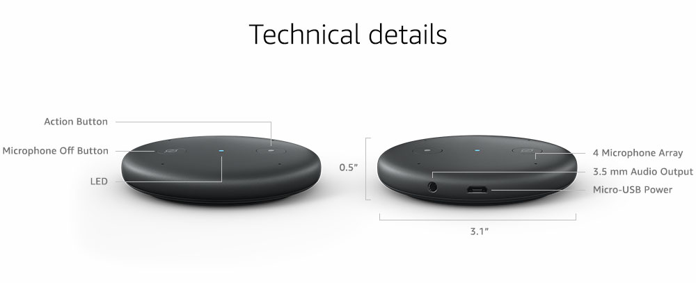 Echo Input è da oggi disponibile per i clienti di Amazon.it