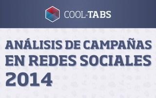 Campañas en redes sociales en 2014 según @CooltabsAPP