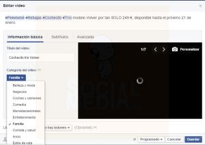 como crear una presentacion de video para facebook paso 5