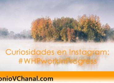 #WHPworkinprogress anima a los usuarios de Instagram a compartir sus vídeos en los que se les vea creando cosas a mano.