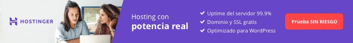El mejor hosting en España.