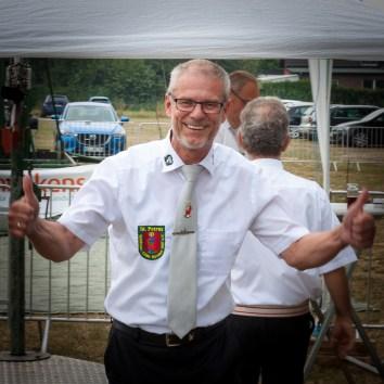 Werner van Gisteren für die St. Petrus-Schützen-Gilde