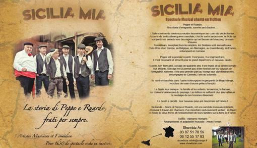 Sicilia Mia comédie musicale