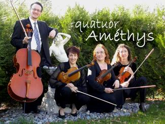 Quatuor améthys ambiance apéritif mariage animation
