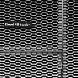 Toronto Deisel Fence Pattern Black and White