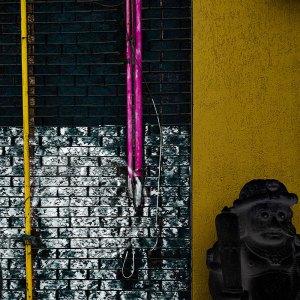 Toronto Distorted Wall Urban Graffiti Statue