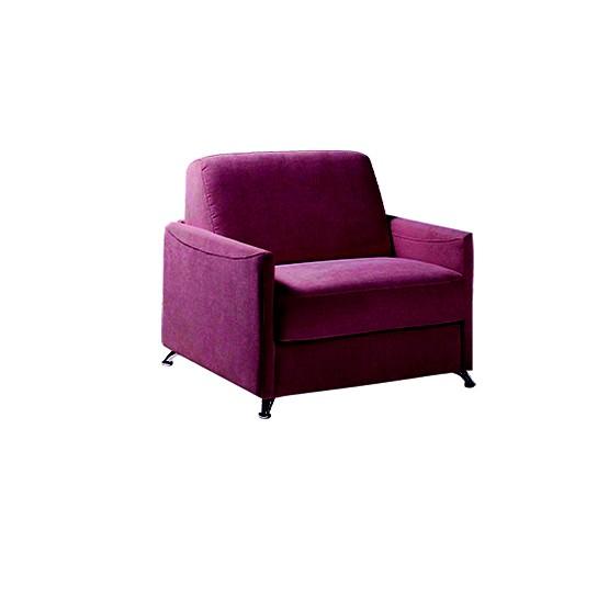 fauteuil lit ambrogio matelas 80 epais 17 cm