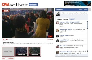 Image: CNN Facebook live viewer