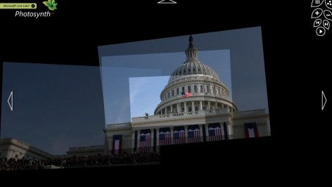 Image: One of CNN and Microsoft's Photosynth montages