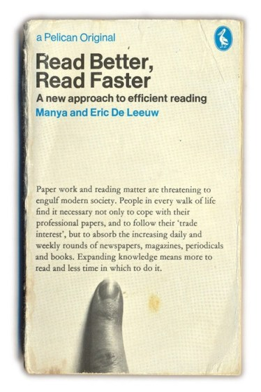 Image: the cover of Read Better, Read Faster
