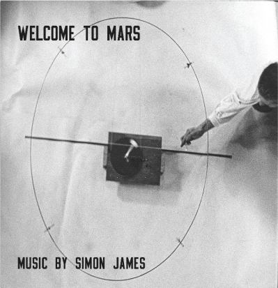 Image: Cover of the Welcome to Mars soundtrack CD