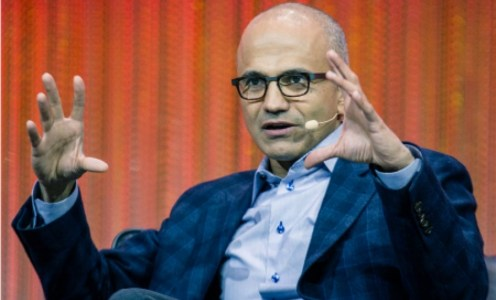 One of Microsoft's new CEO's strengths? He doesn't finish business books…