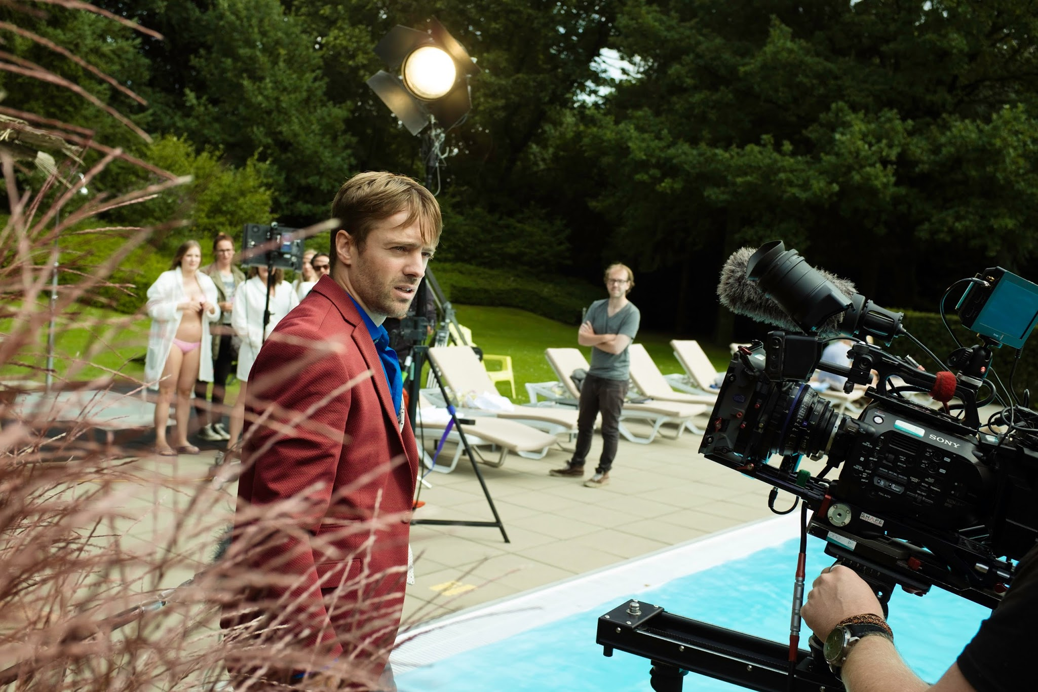 True Love Movie Set Photo Anton Zwijsen 2