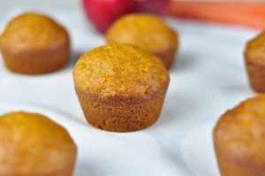 CARROT APPLE MUFFINS IN 40 MINUTES – A HEALTHY BREAKFAST