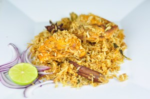 FISH BIRYANI WITH SALMON – A HEALTHY DINNER IDEA