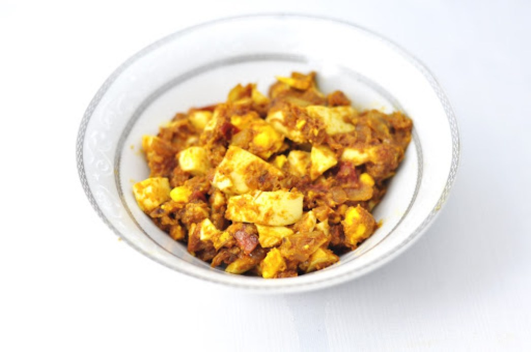 SPICY EGG KEEMA