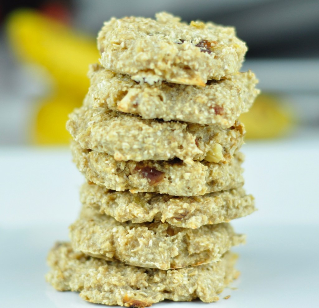 BANANA OATMEAL COOKIES – A HEALTHY BREAKFAST