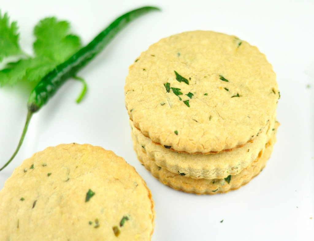 Savory Cookies (Khara Biscuits) with Spices and Herbs