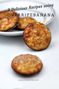 9 Delicious way to use Overripe Banana with Recipes