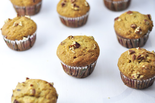 breakfast banana muffins