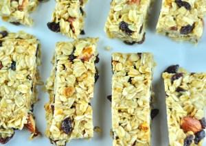 5 – Ingredient Granola Bar Recipe