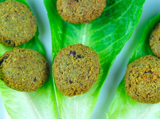 FALAFEL WITH CHICKPEAS AND FRESH HERBS