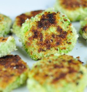 POTATO BROCCOLI PATTIES WITH CHEESE