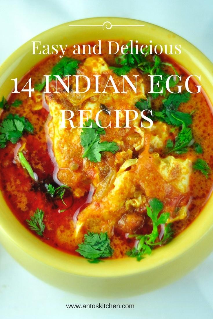 Indian Egg Recipes