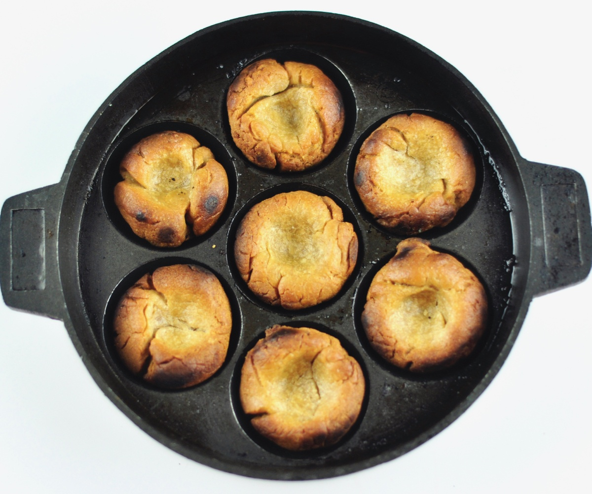 baati using appe pan
