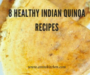 8 Healthy Quinoa Indian Recipes