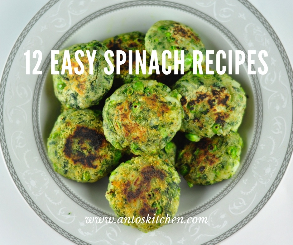 easy spinach recipes