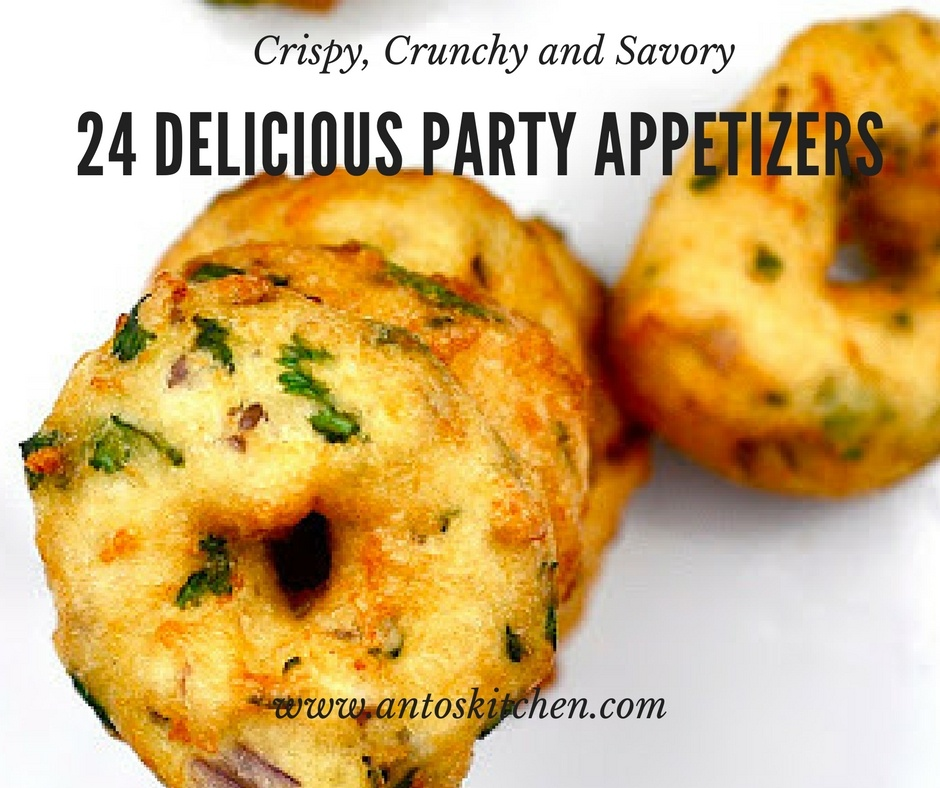 24 Delicious Party Appetizers