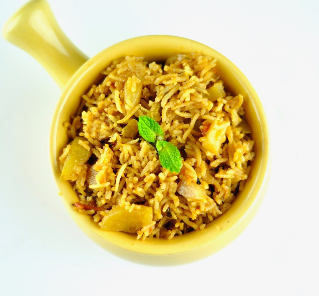 Bottle Gourd Rice (Lauki Pulao)