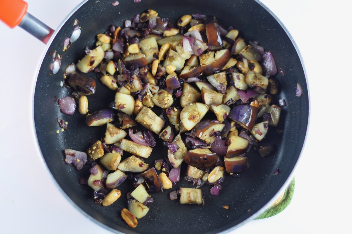 south indian eggplant chutney