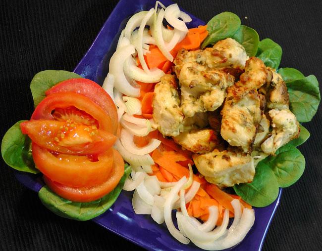 murg malai kabab
