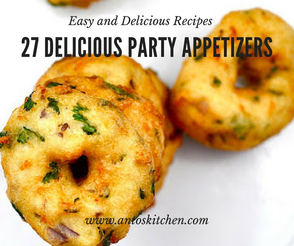 27 Delicious Party Appetizers