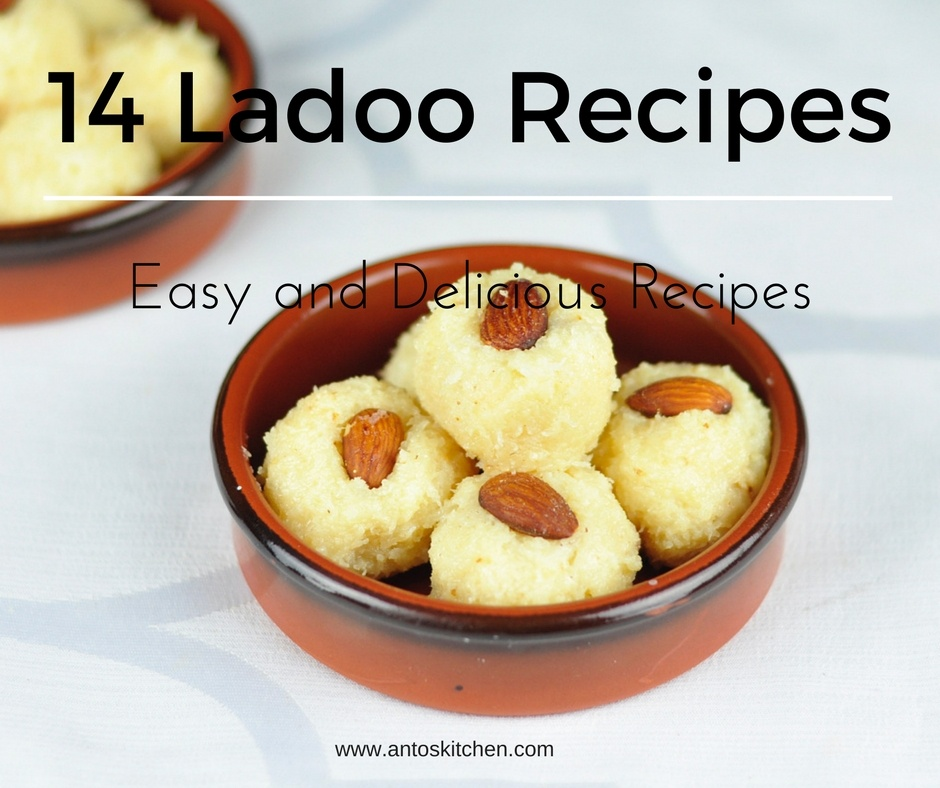 14 Easy Ladoo Recipes