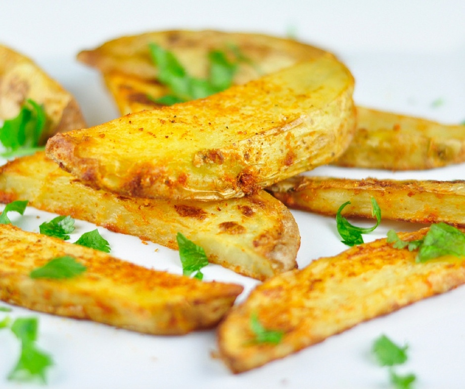 spicchi di patate al forno