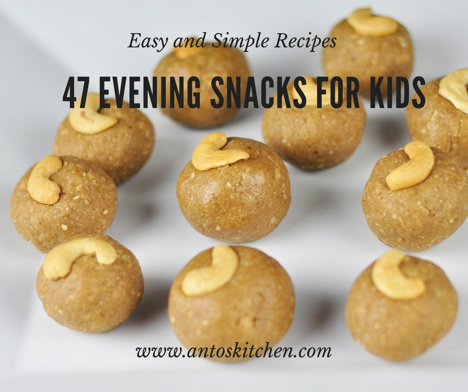 47 Easy Evening Snacks for Kids