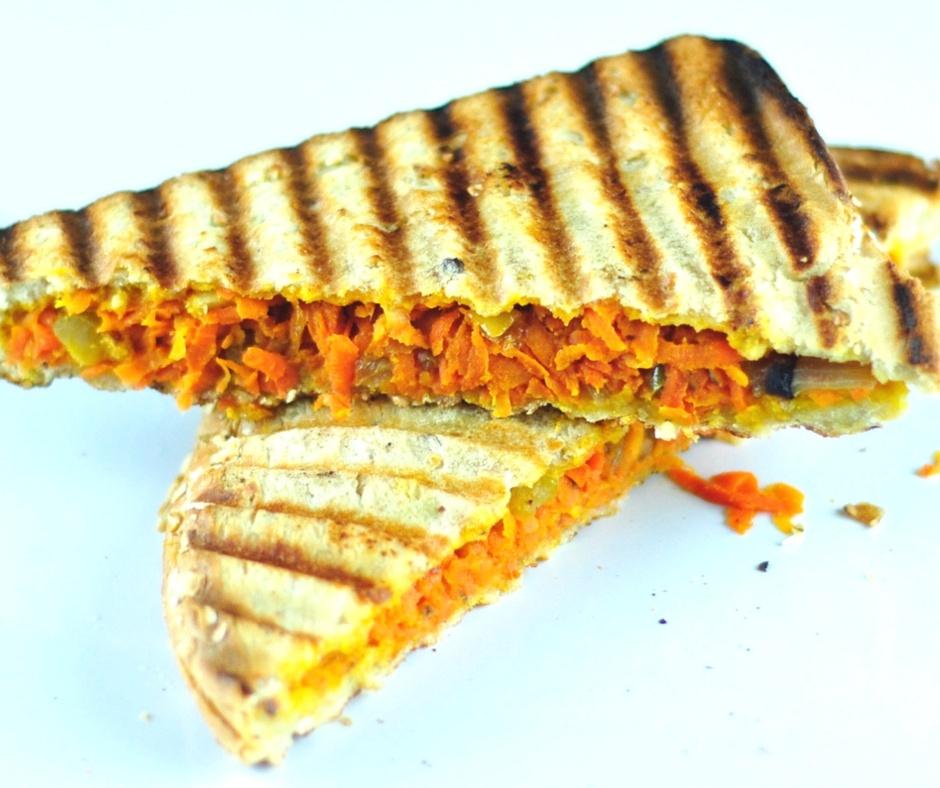 masala toast sandwich