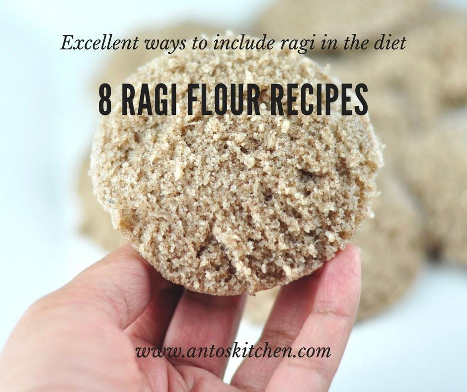 ragi flour recipes