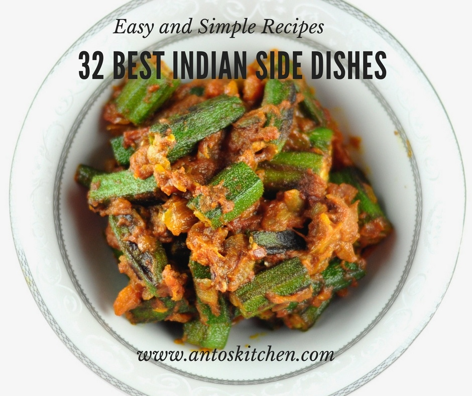 32 Best Indian Side Dishes