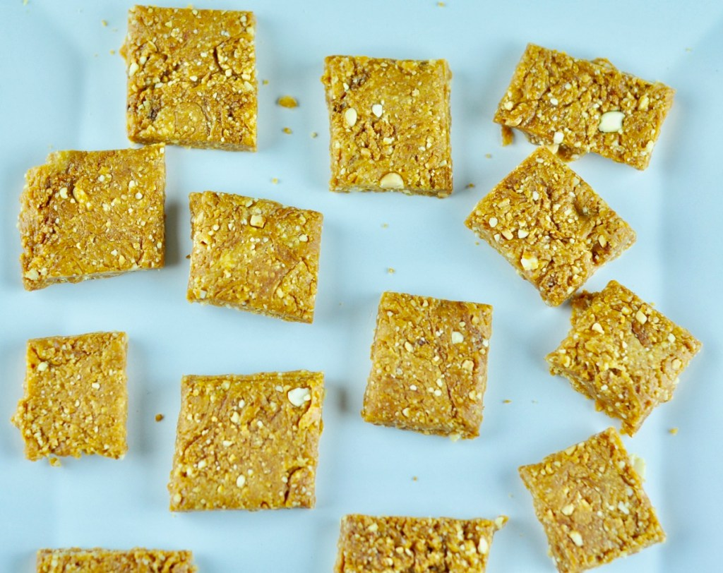 Peanut Chikki Recipe with Sugar