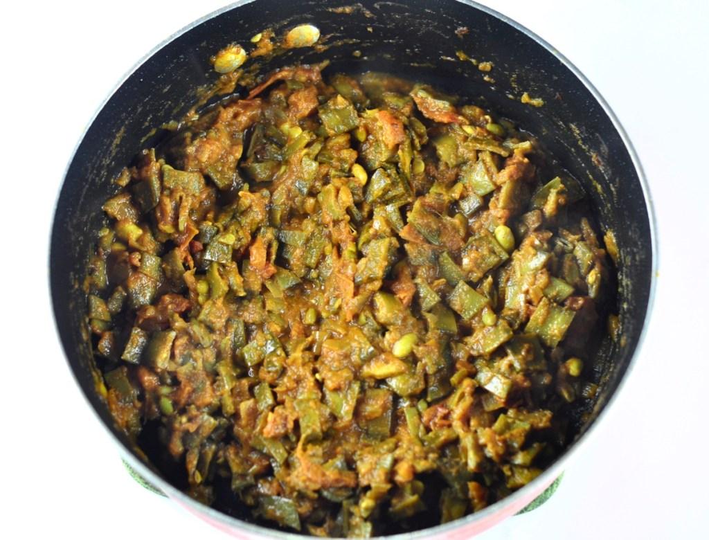 broad beans masala