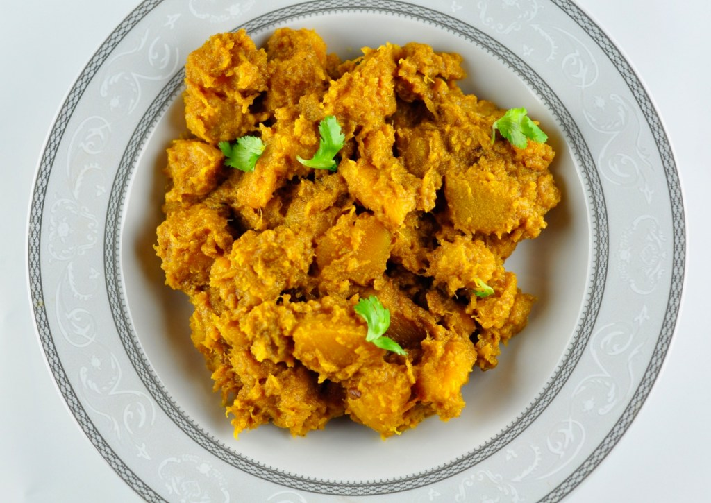 pumpkin sabzi