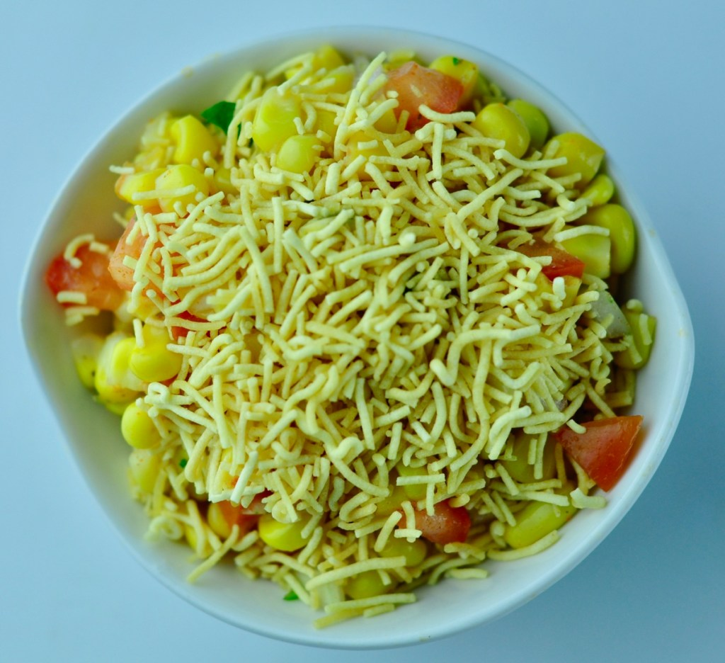Sweet Corn Chat Recipe