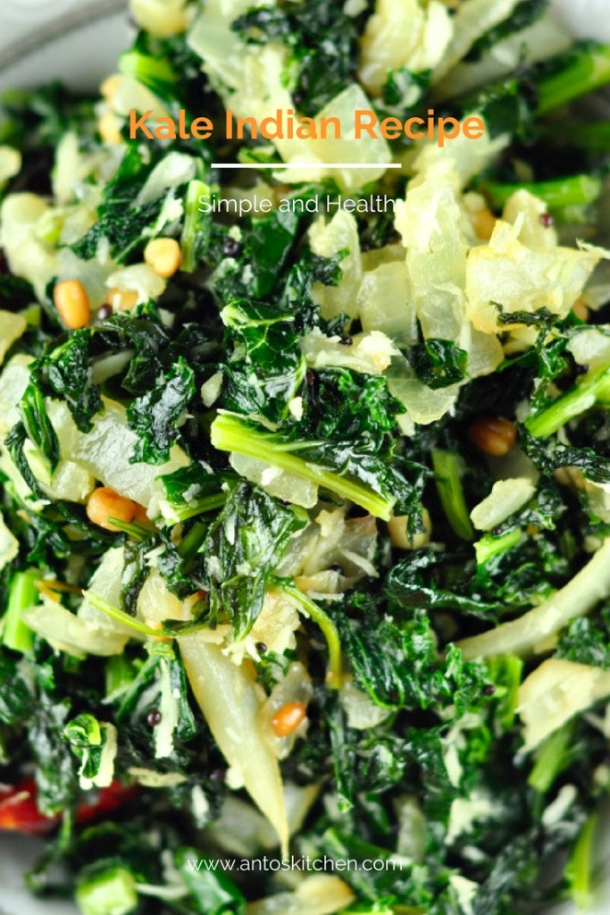 kale indian recipe