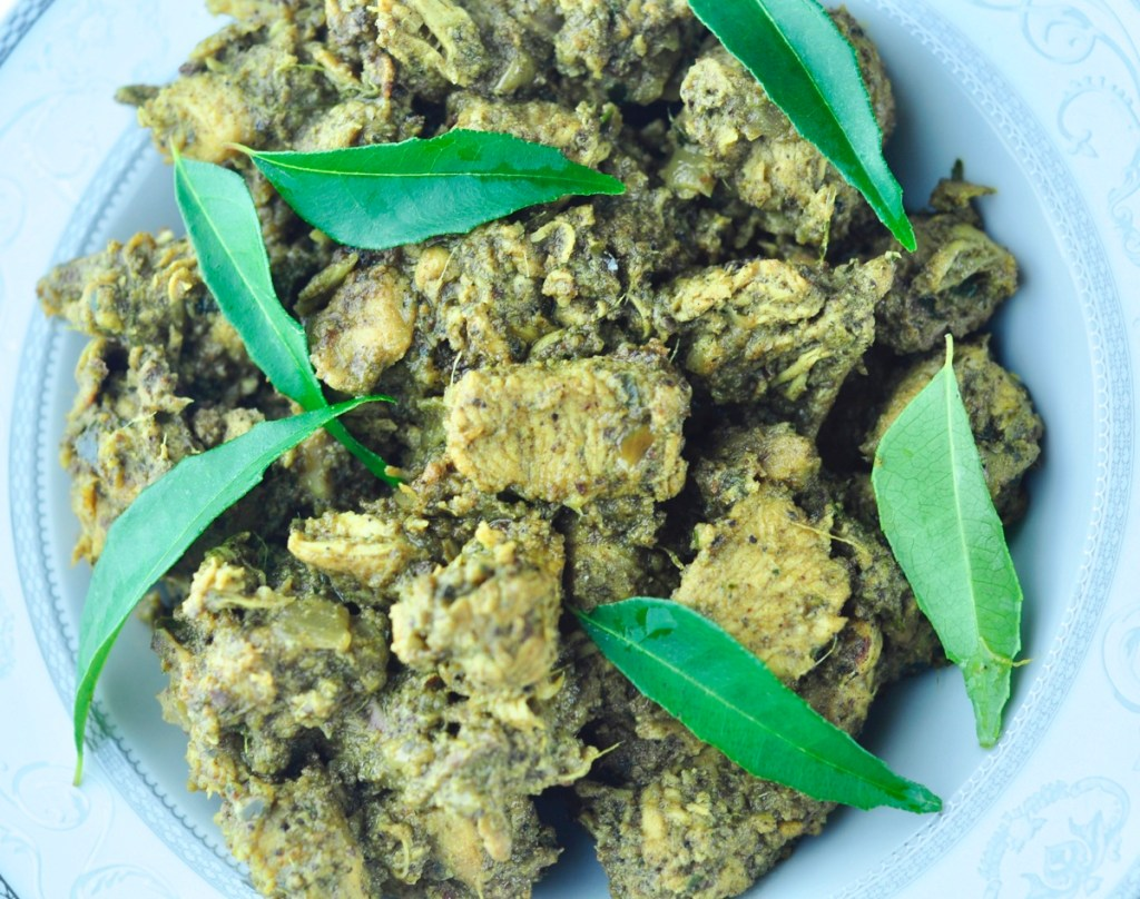 curry leaves chicken