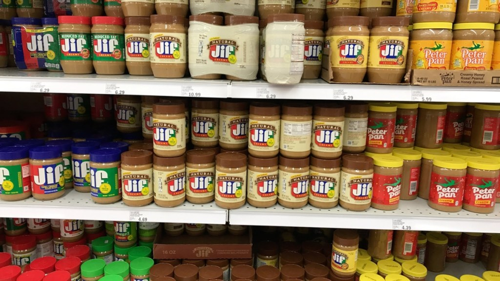 creamy natural peanut butter