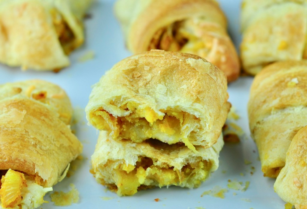 stuffed potato crescent rolls